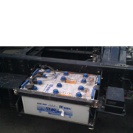 Защита аккумулятора из оцинкованной стали